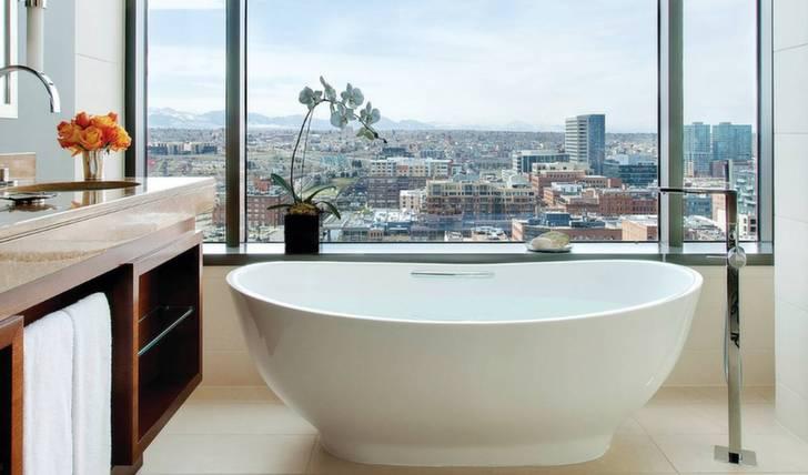 Bathroom at Four Seasons, Denver