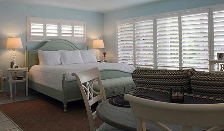 A room at the Kona Kai, Florida Keys, USA