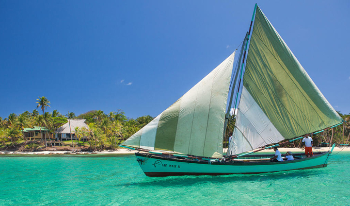 Spend time sailing around the resort