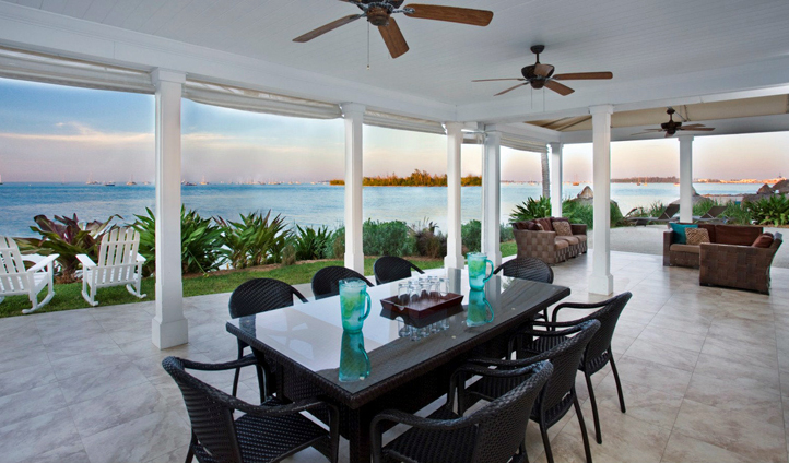 Dining at Sunset Key Resort, Florida, USA