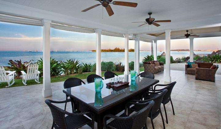 Enjoy stunning views as you dine