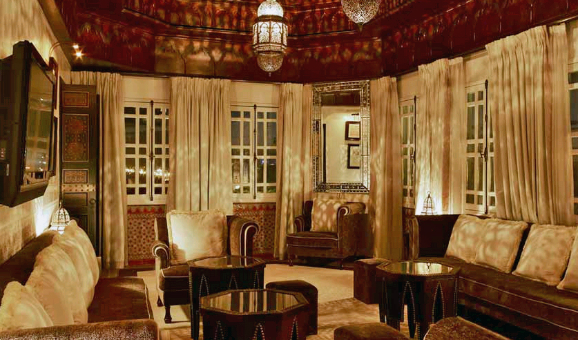 la mamounia luxury hotel in marrakech. Black Bedroom Furniture Sets. Home Design Ideas