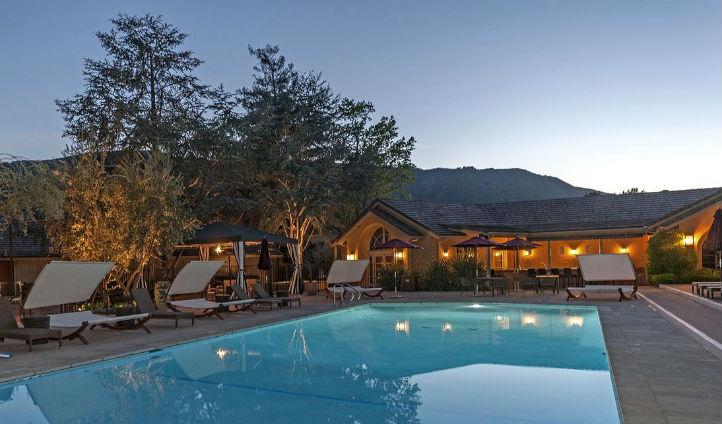 Bernardus Lodge at Sunset