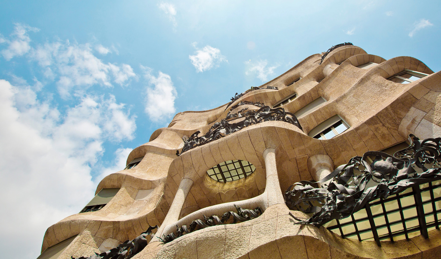 Take in Gaudi's signature style in Barcelona