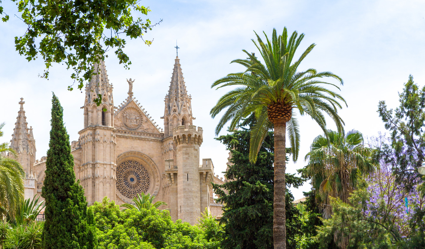 Stroll through the streets of Palma and take in the sights