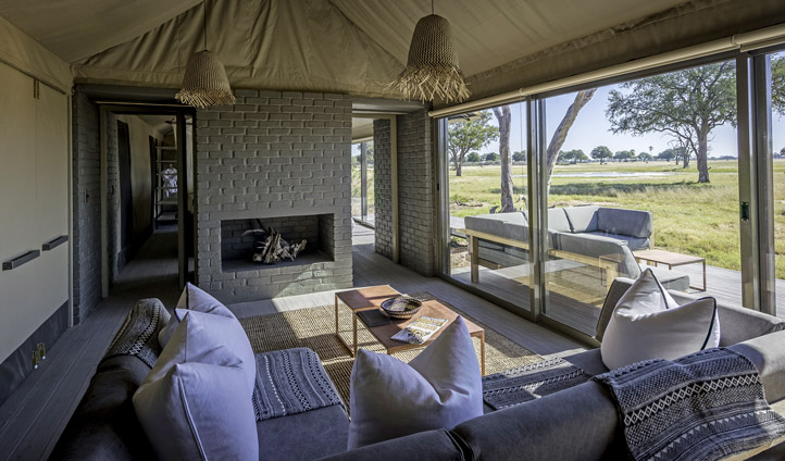 Luxury Camp in Africa
