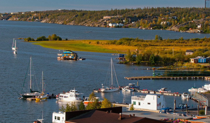 The beauty of Yellowknife Bay