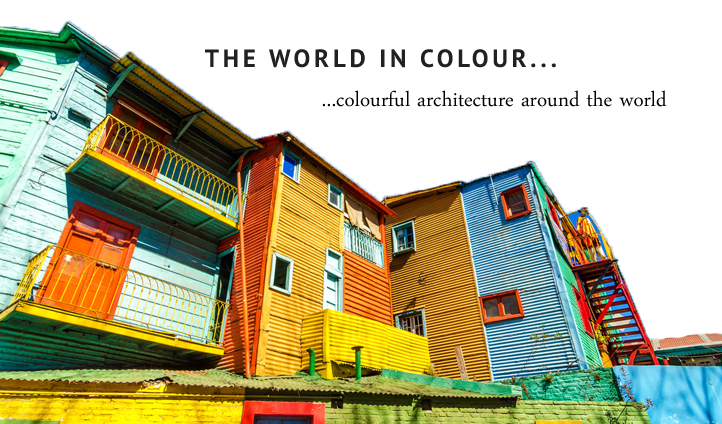 Colourful architecture around the world | Black Tomato