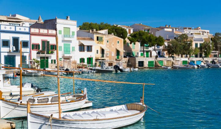 The stunning Ibiza ports