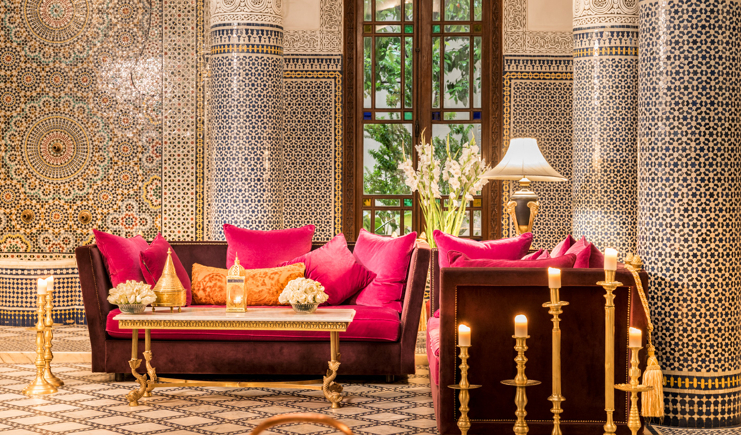 Bright and bold design adds a twist to Moroccan design