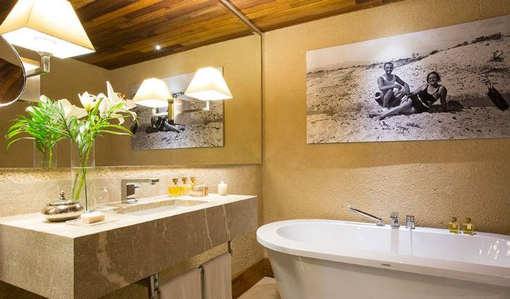 Luxurious bathrooms at Cap Rocat