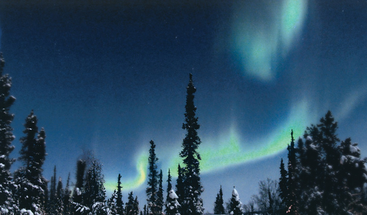 Arctic Chalet's remoteness lends itself to Aurora appearances