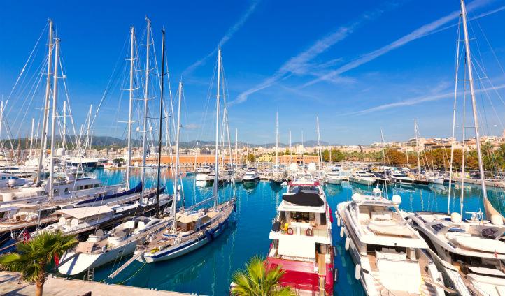 First stop: Palma de Mallorca