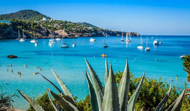 Swim in Ibiza's clear waters