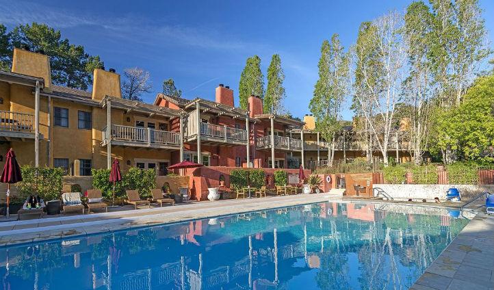 Take a refreshing dip under the California sun