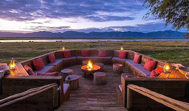 View across the Zambezi River