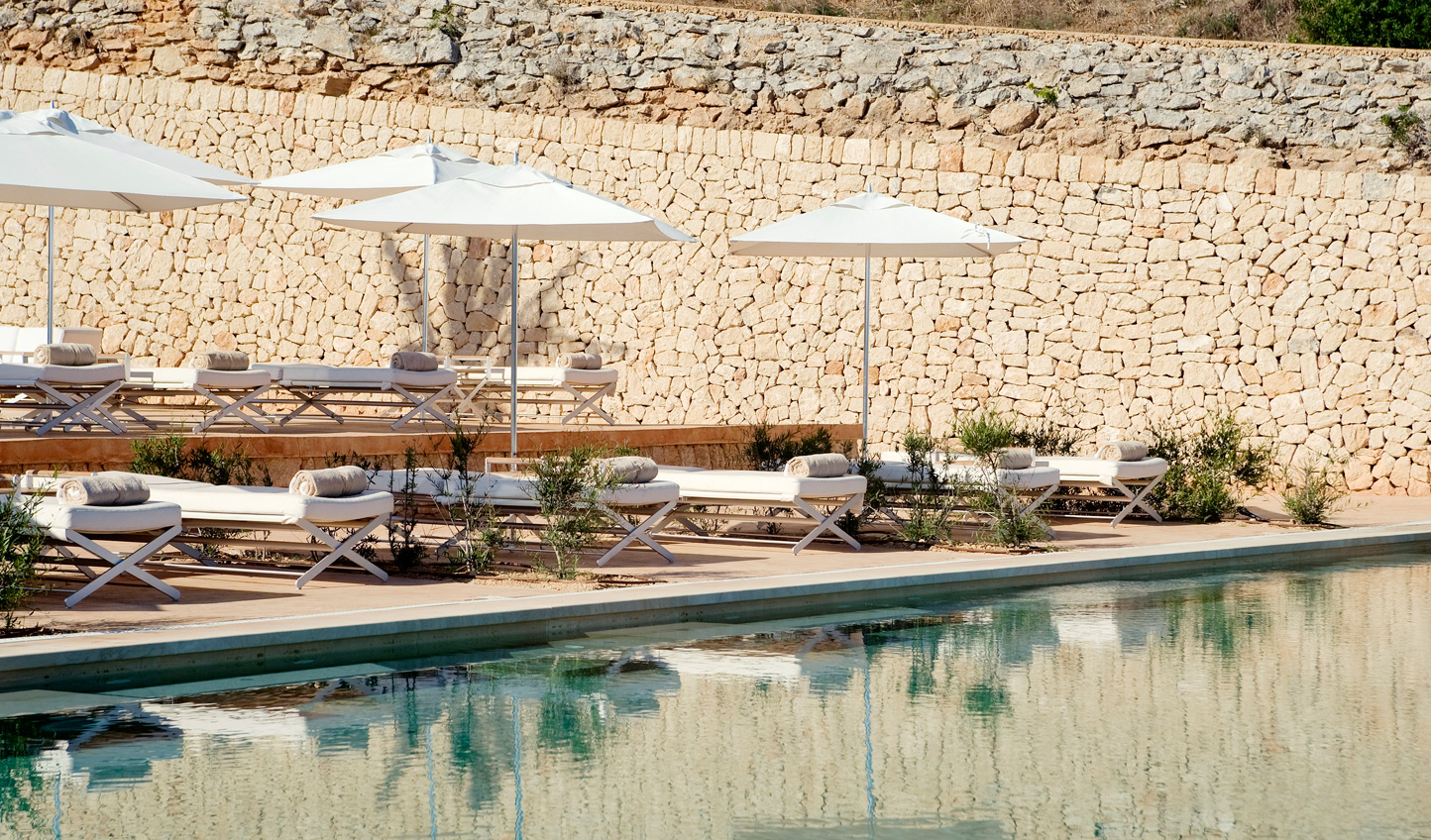 Soak in the Mallorcan sun by the pool