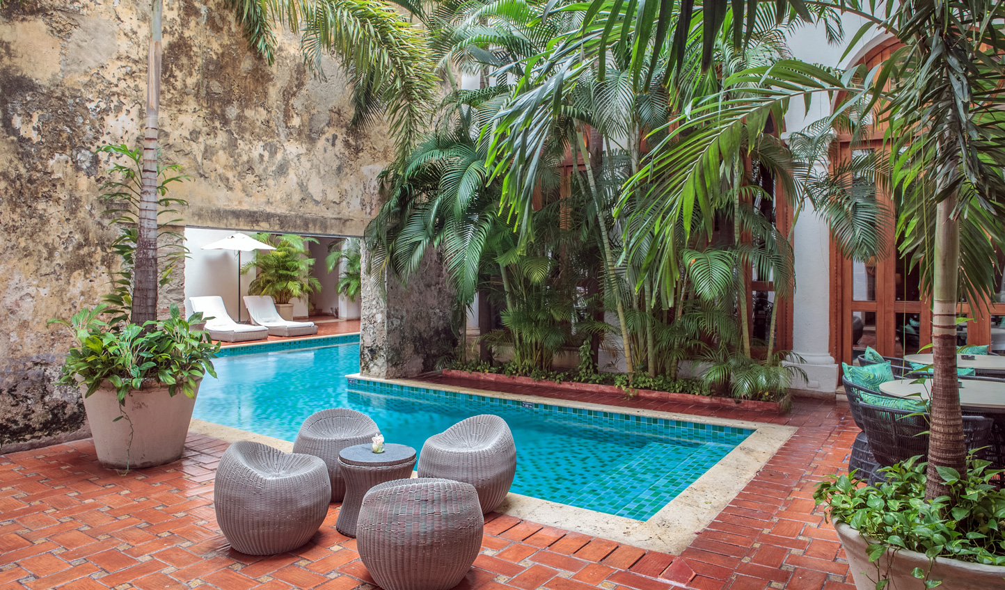 Discover a peaceful oasis in the heart of Cartagena