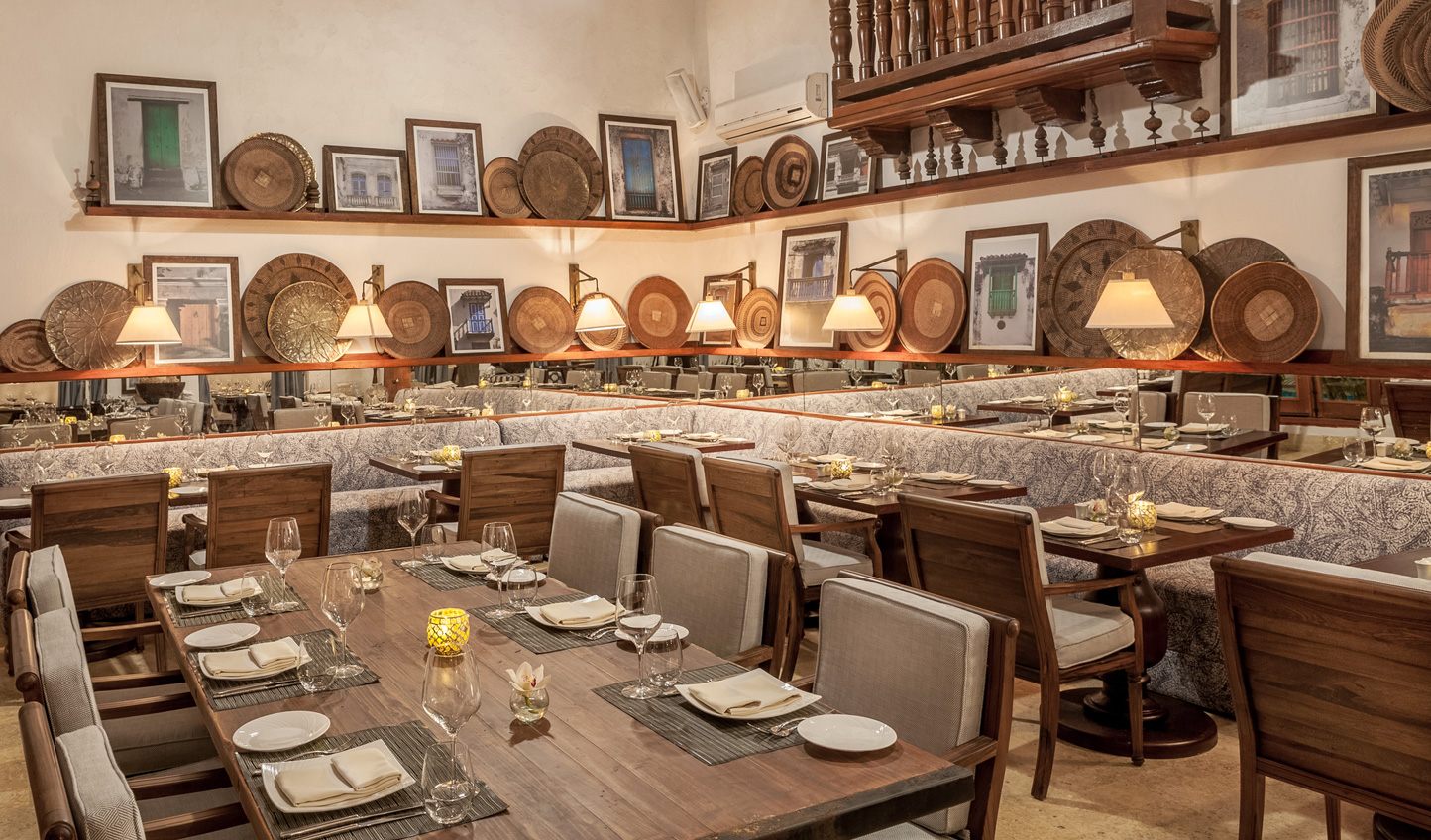 Rub shoulders with trendy locals at Alma Restaurant