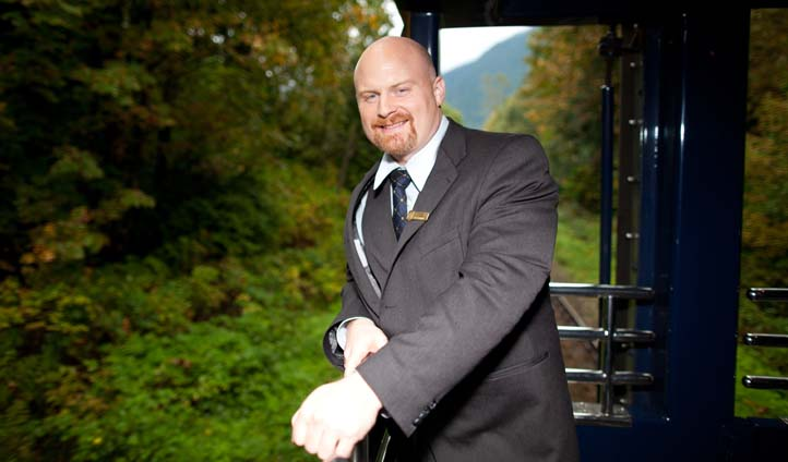 Wade Bush from The Rocky Mountaineer, Canada