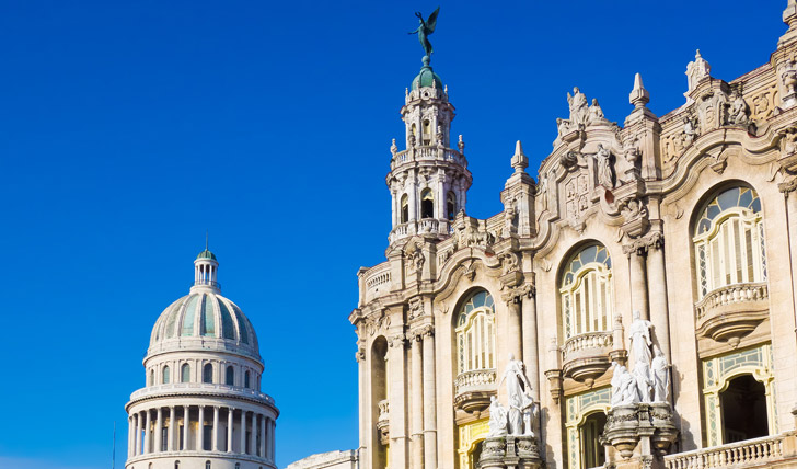 Luxury holidays in Cuba
