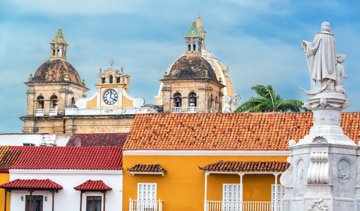 Historic architecture in Colombia