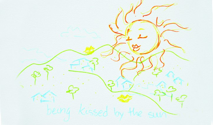 Jeana Lindo | Being Kissed by the Sun