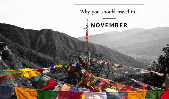 Where to travel in November | Black Tomato