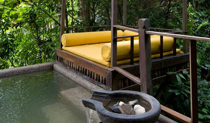 Relax and soak up your jungle surroundings