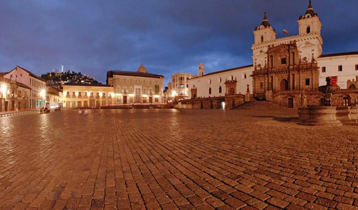 The Plaza in Quito