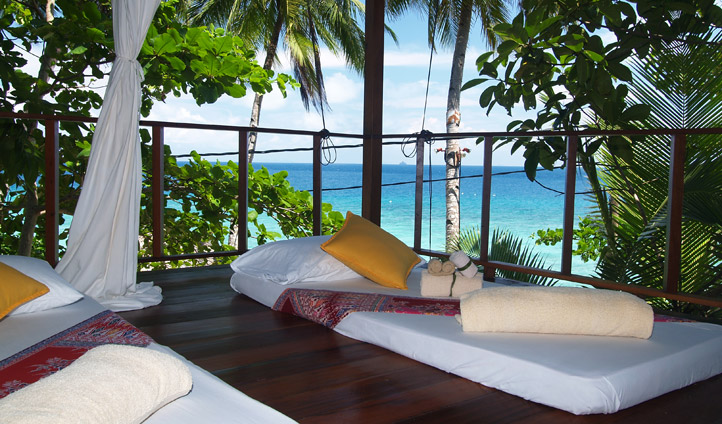 Relax and recline at Japamala