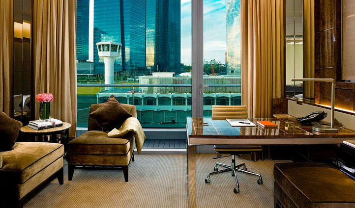 Suites with the perfect office view