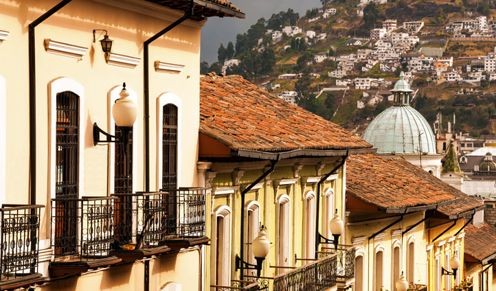 Colonial architecture in Quito