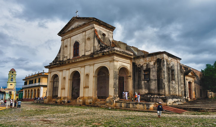 Explore the religious temples of Trinidad and be educated on their colonial history