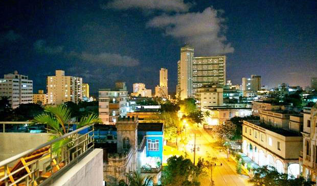 Step onto your private terrace at Penthouse Ydalgo and gaze upon Havana's Vedado region