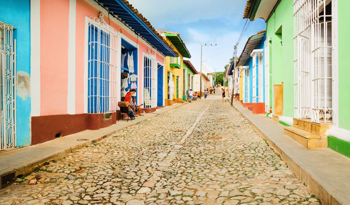 Stroll through the unique and quirky streets of Trinidad