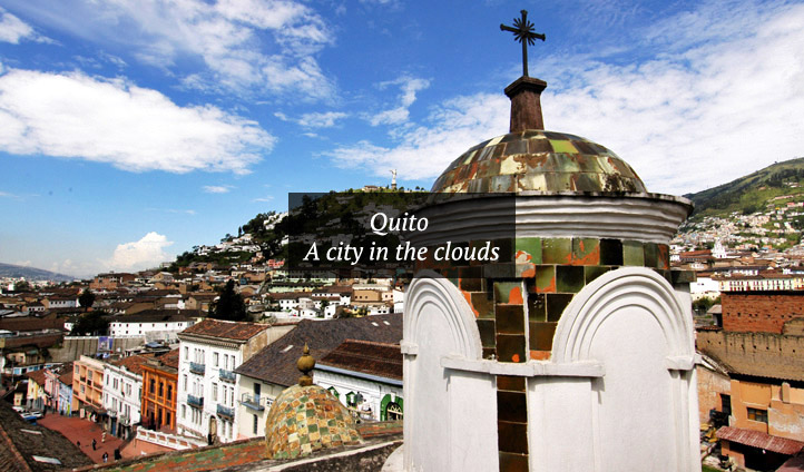 The beautiful architecture of Quito