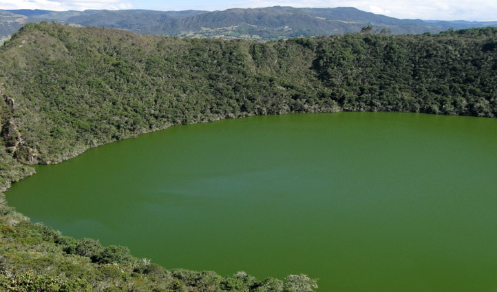 Lake Guatavita, Colombia