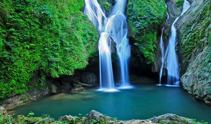 Take a dip in the famous waterfalls of Trinidad
