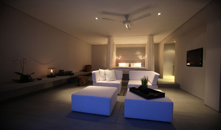 Retreat to you room and soak up the calming ambiance