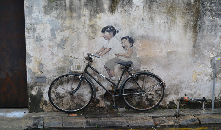 Discover the unique art as you embark on your guided tour around Penang