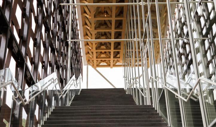 Steps in the Aspen Art Museum