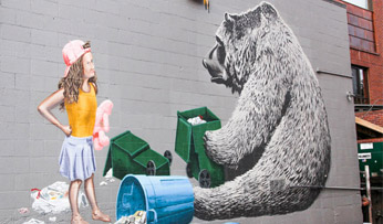 Aspen street art
