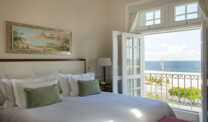 Enjoy the breath taking views of the ocean below from your quaint suite