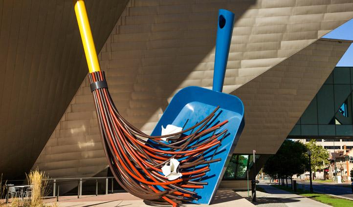 Denver Art Museum installation