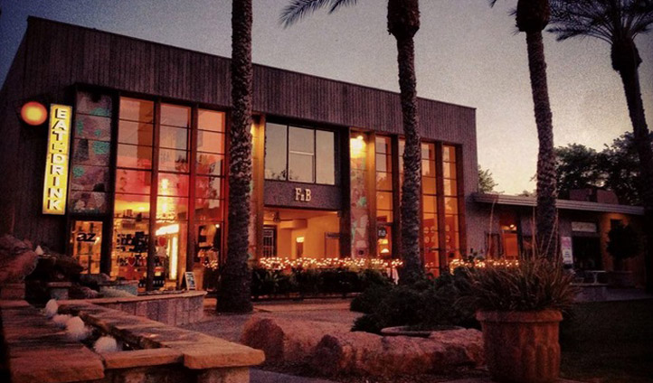A restaurant in Scottsdale, USA