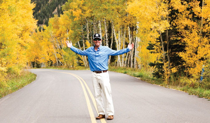 Fall foliage in Aspen with Steve Goff