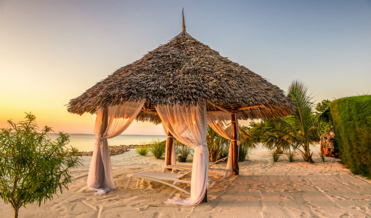 Your own private beach in Zanzibar