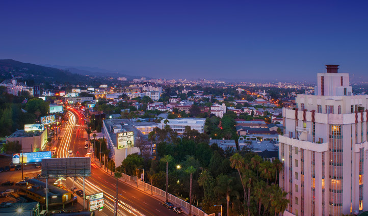 Sunset Blvd. Hollywood, USA