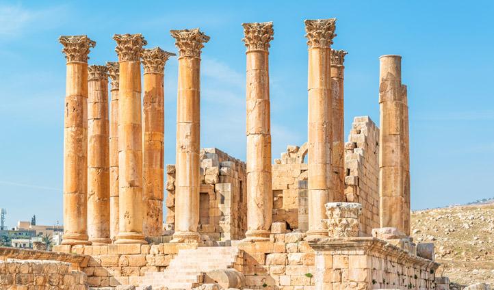 Ruins in Jerash, Jordan